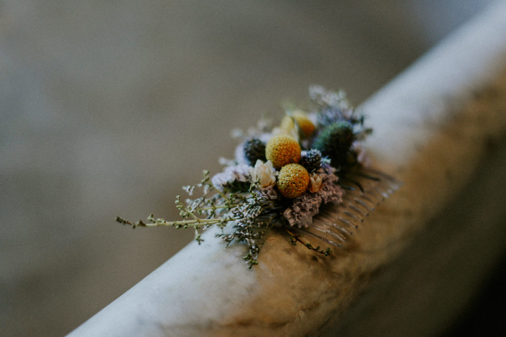 photographe reportage mariage peigne floral perpignan