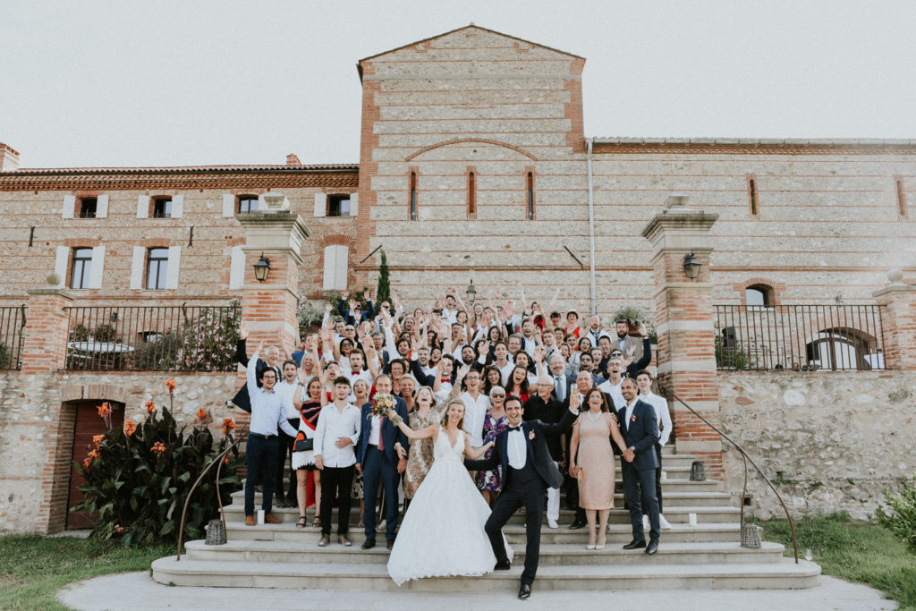 Domaine Belric - Mariage - Photo de groupe