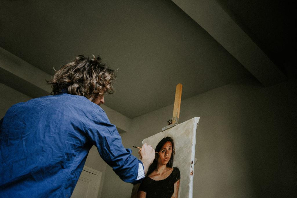 Photographe artisan - Artiste peintre Céret - Romer Kitching