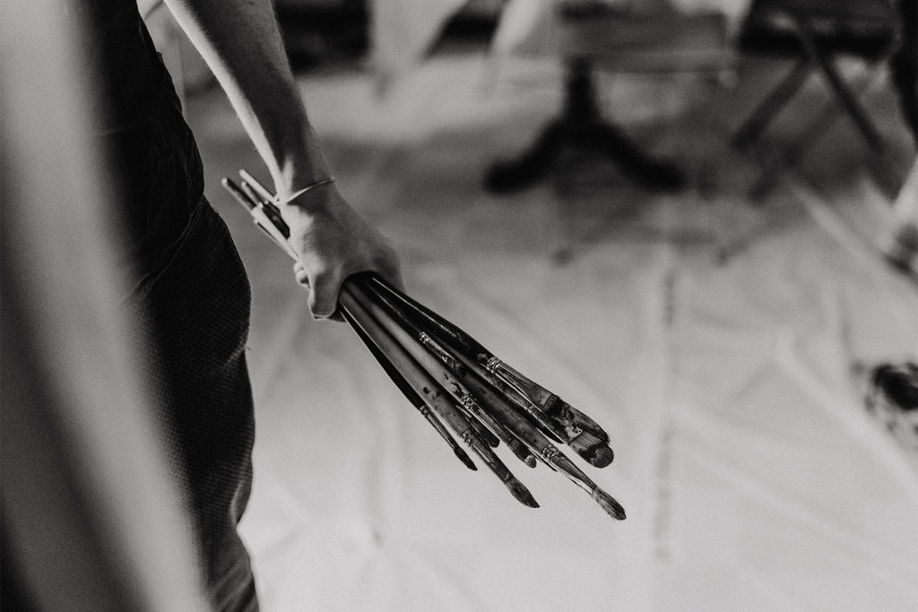 Photographe artisan - Artiste peintre Céret - Romer Kitching - Cyrielle Riba