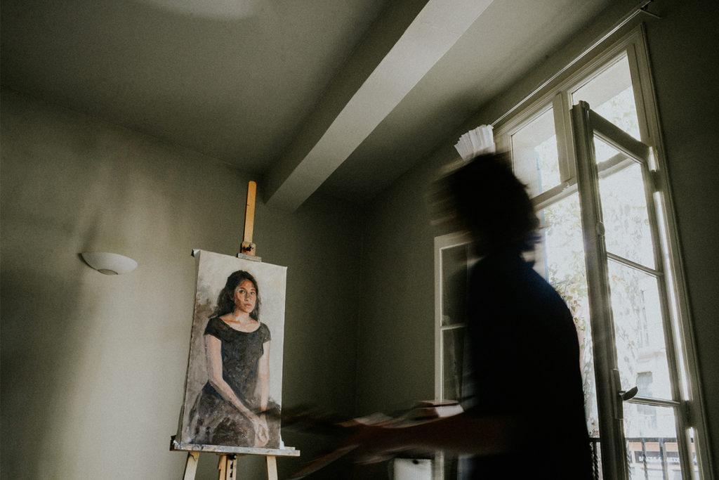 Cyrielle Riba Photographe artisan - Artiste peintre Céret - Romer Kitching