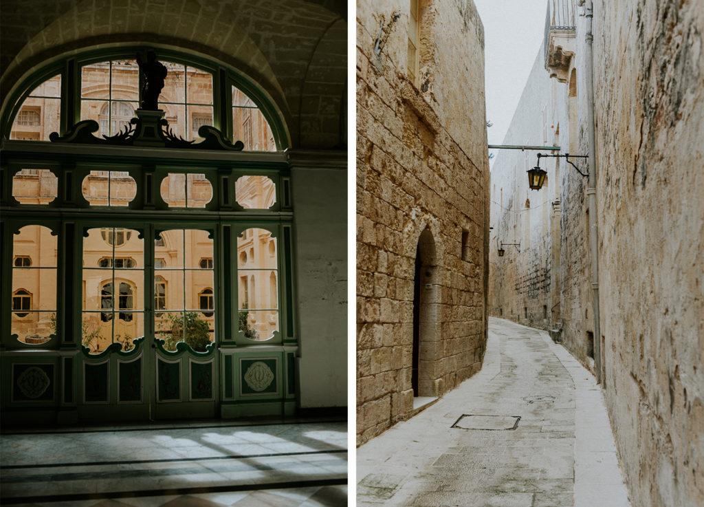 Rues de Mdina - Malte