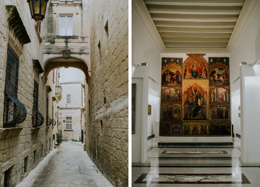 Rue de Mdina - Tableau sur le christianisme - Malte