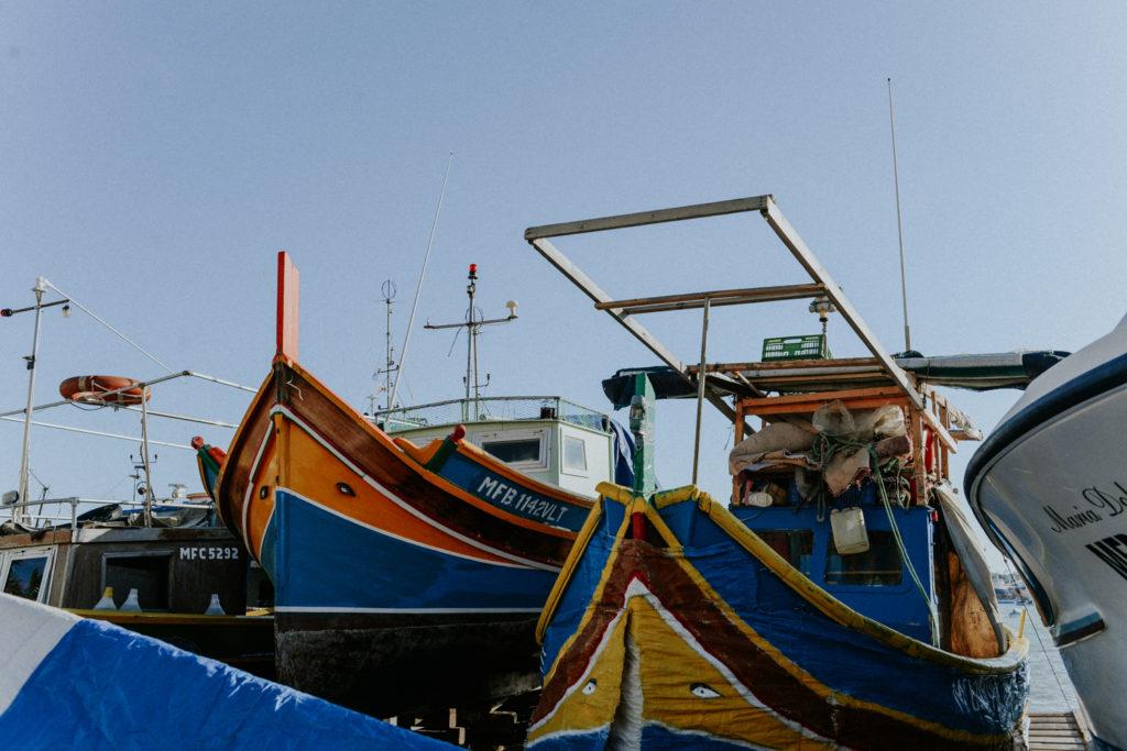 Barque maltaise - Marsaxlokk