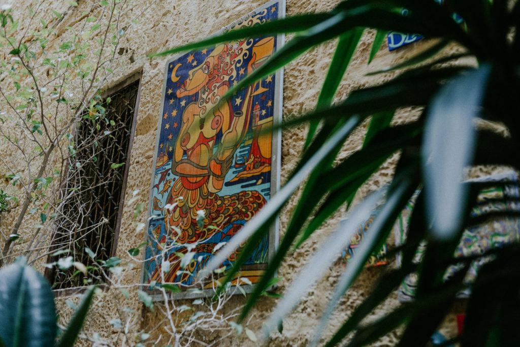 Art sur un mur - Malte