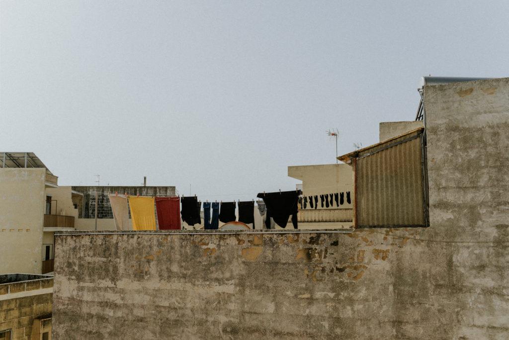 Linge sur toit terrasse - Gozo