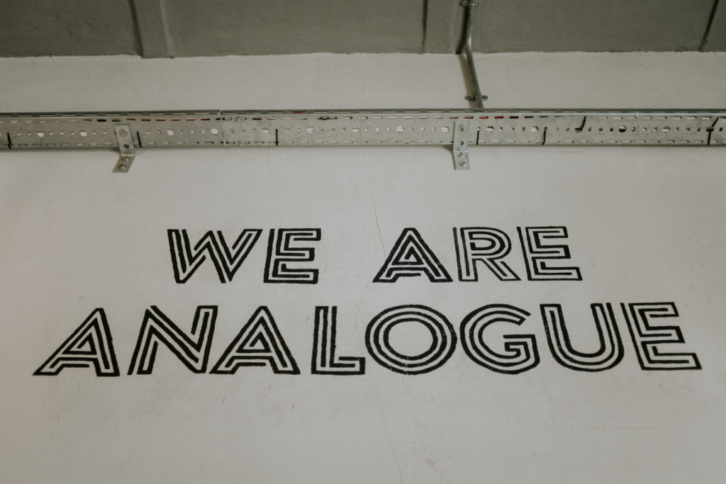 We are analogue - Disquaire à Malte