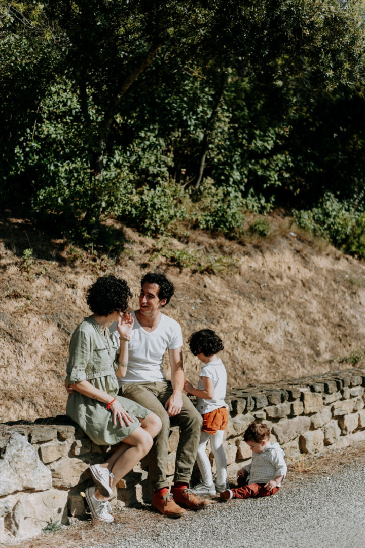 reportage famille Carcassonne automne